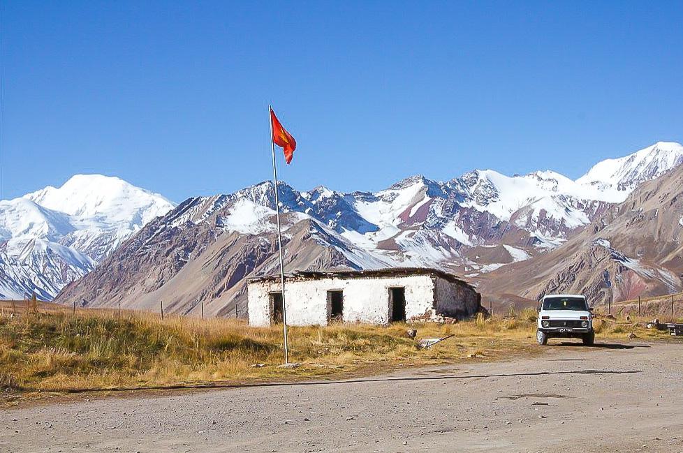 tajik kyrgyz border crossing