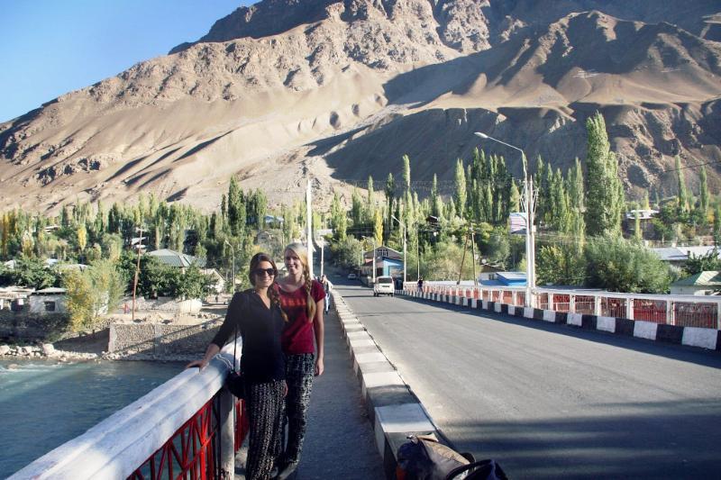 Khorog Tajikistan Pamir Highway