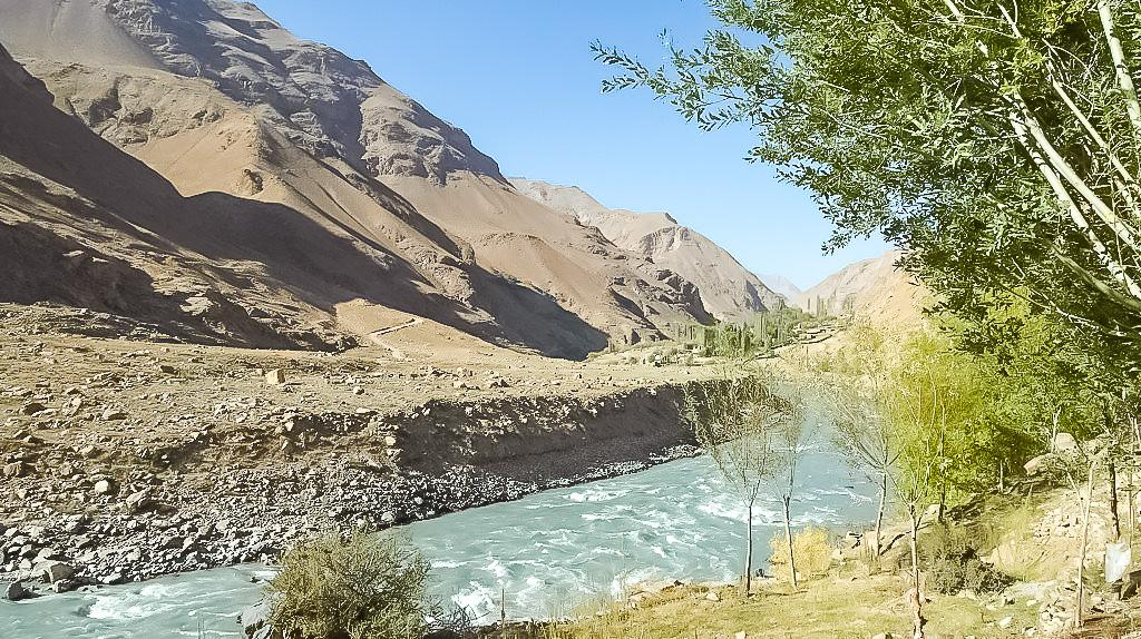 the wakhan valley corridor