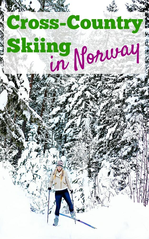 Cross-Country skiing in Telemark, Norway: click through to read about Norway's favorite winter pastime - skiing!