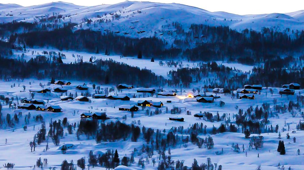 winter Rauland Norway