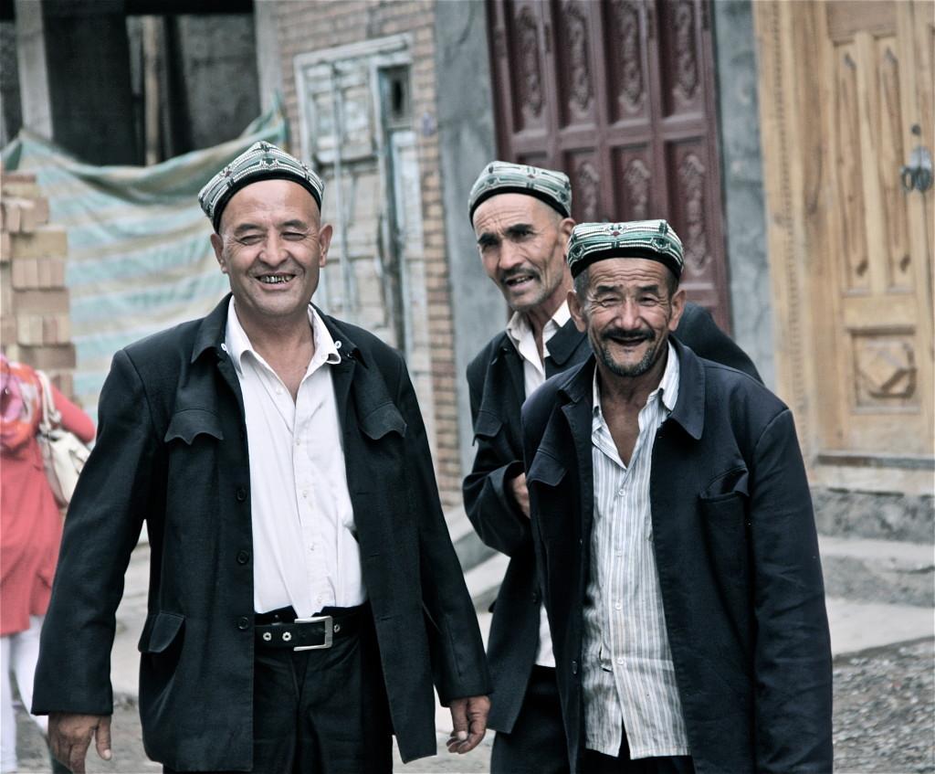 Dumplings and Naan in Kashgar