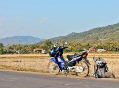 motorbiking through Northern Laos