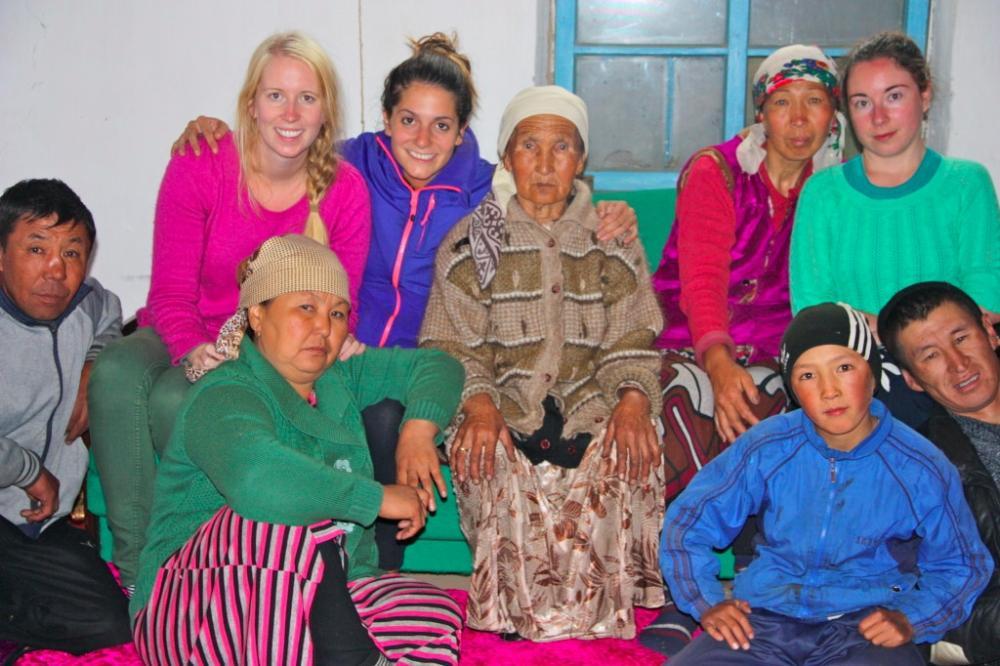 host family Sary-Tash Kyrgyzstan