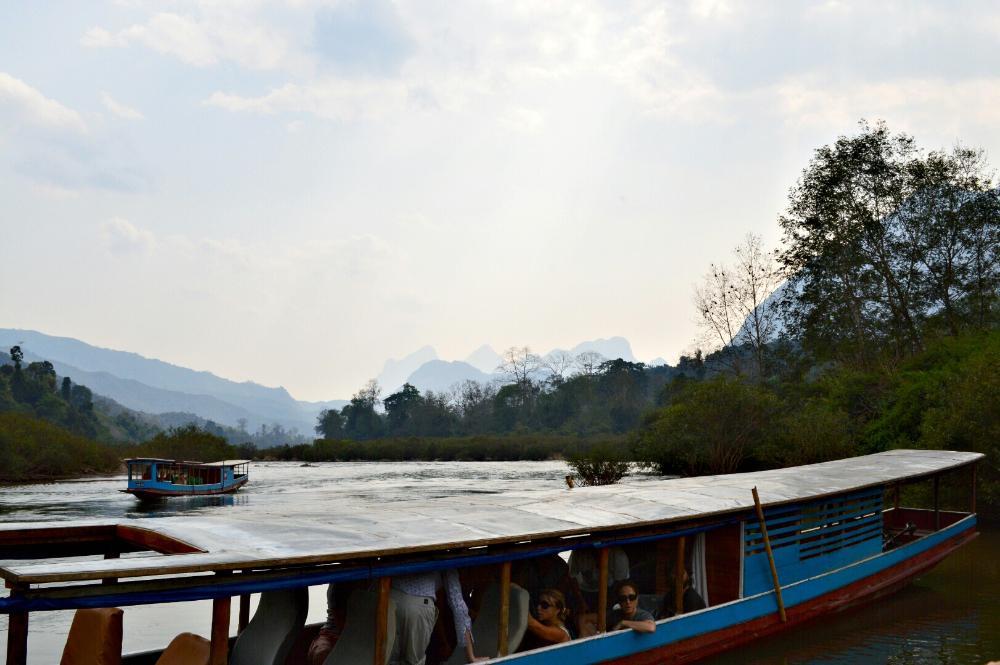 Ou River Laos