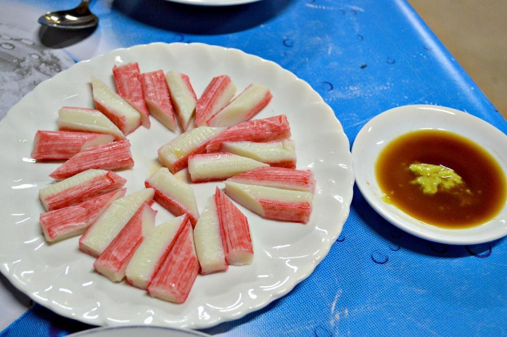 crab sticks Laos