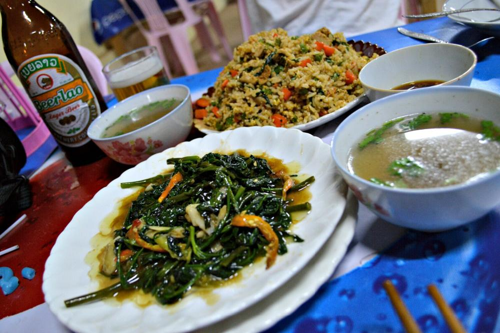 food Udomxai, Laos