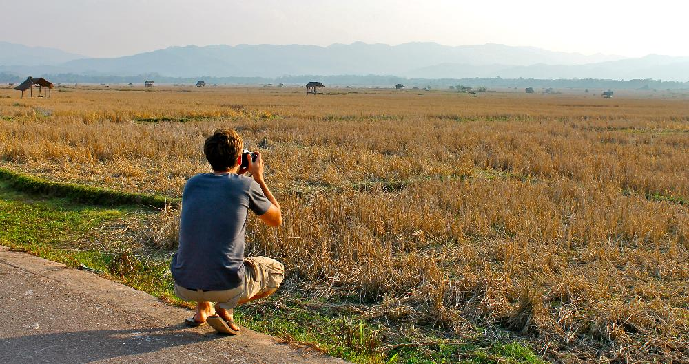 photographing Northern Laos