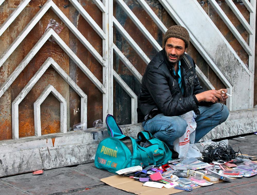 Street Vendor Tehran, Iran