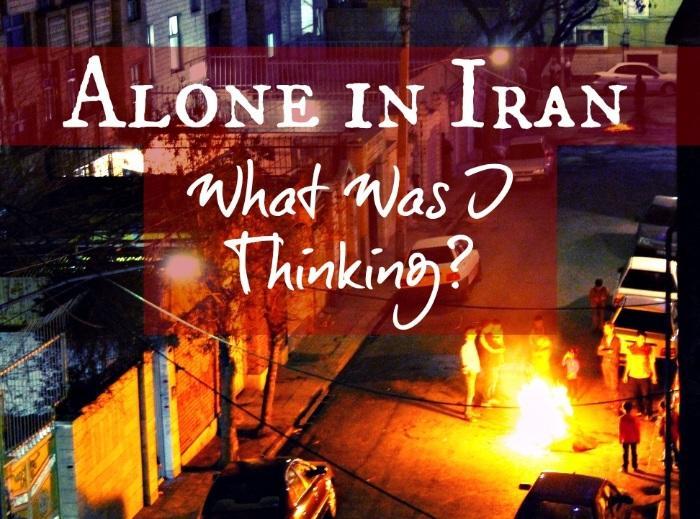 travel Iran alone