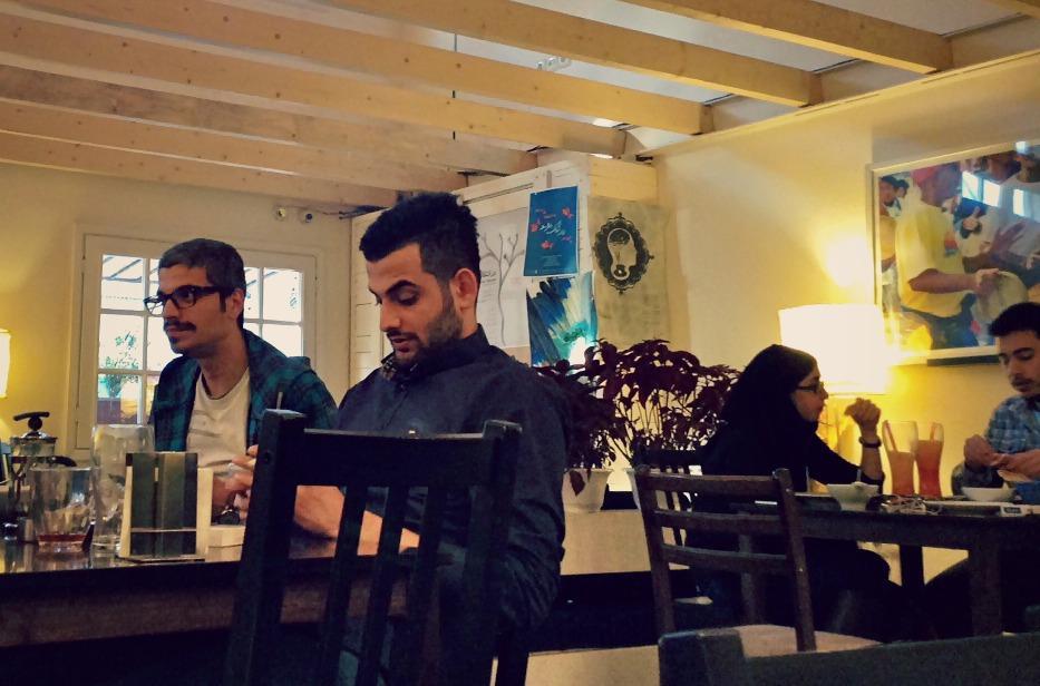 cafe lorca tehran, iran