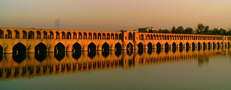 Siosepol bridge Isfahan, Iran