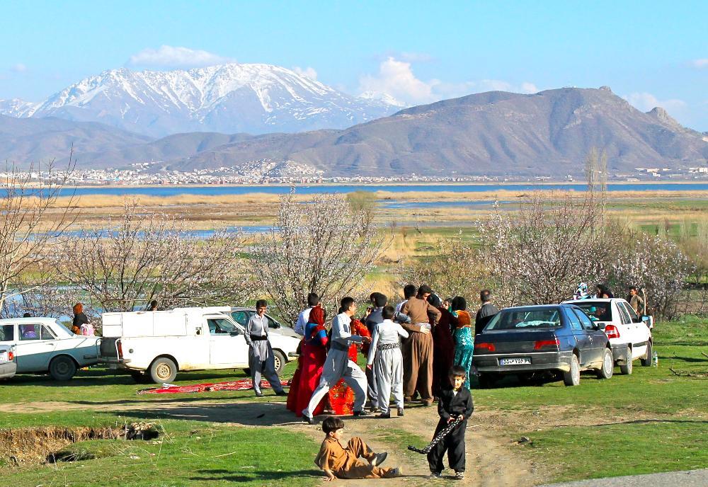 Lake Zarivar Marivan, Iran