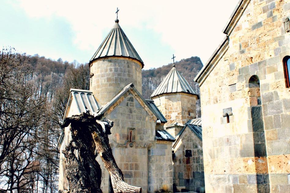 Haghartsin Monastery in Dilijan, Armenia