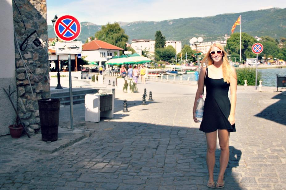 backpacking Macedonia Lake Ohrid