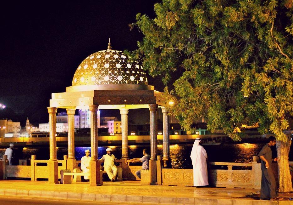 layover Muscat Oman
