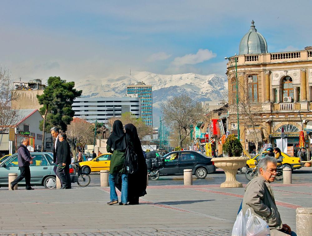 visiting tehran iran