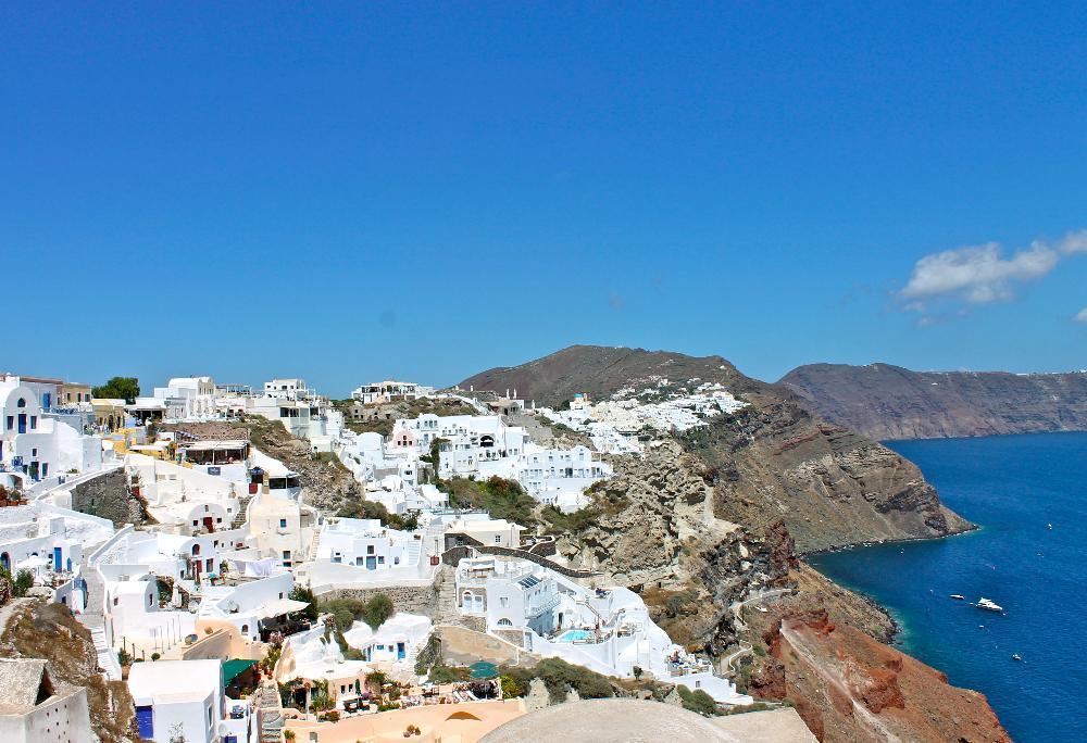 island hopping greece santorini oia