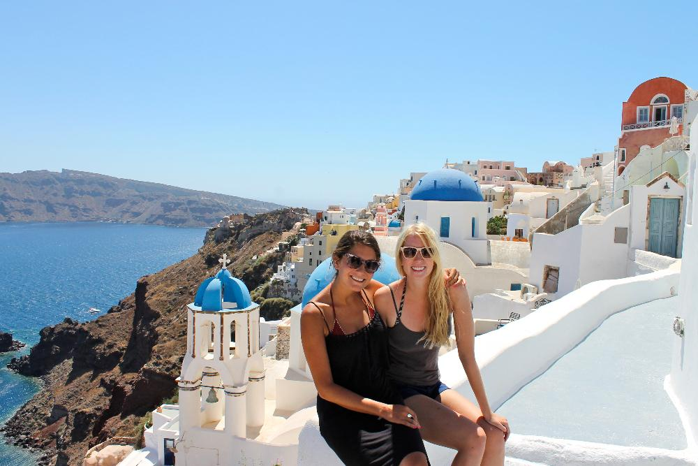 island hopping greece santorini oia