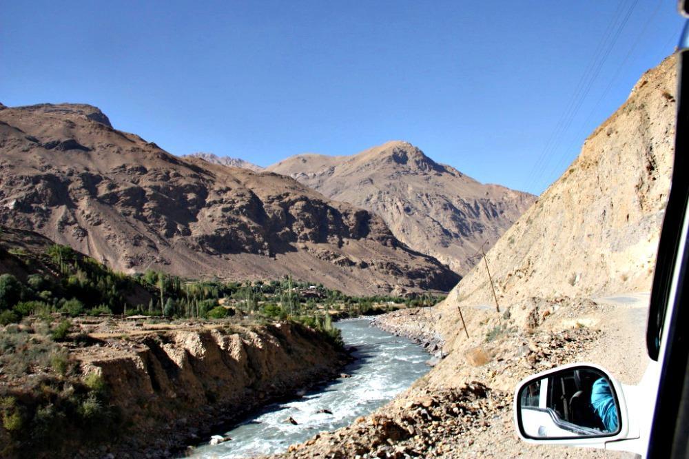 Wakhan Corridor Valley Tajikistan