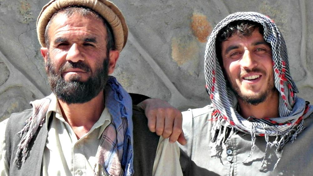 Afghanistan Tajikistan border market