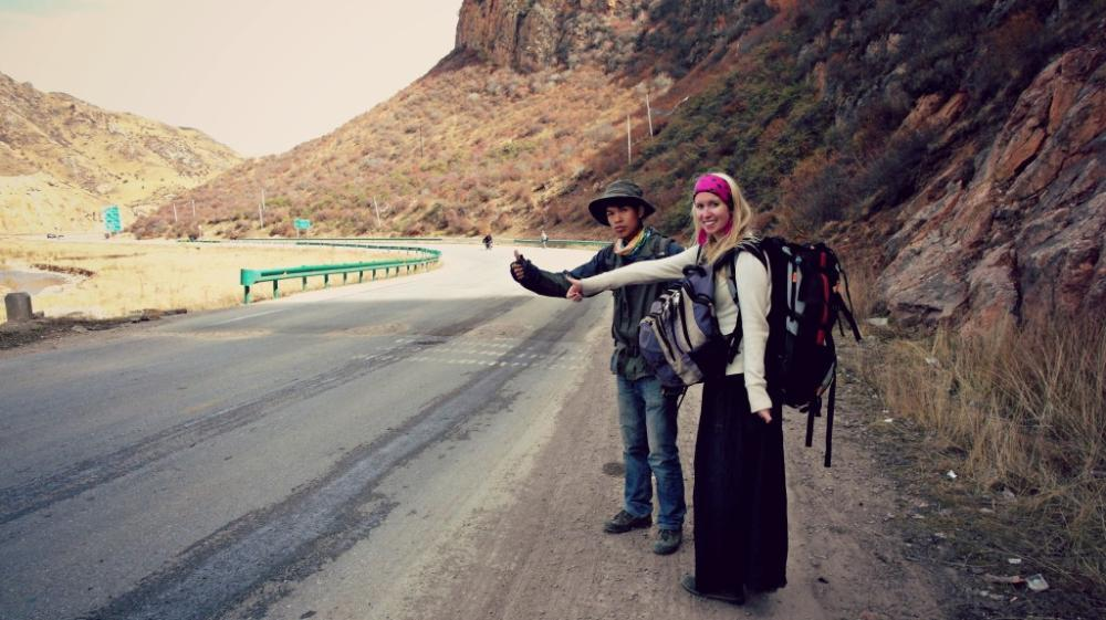 hitchhiking China