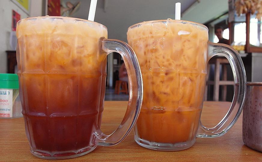 thai iced tea chiang mai thailand