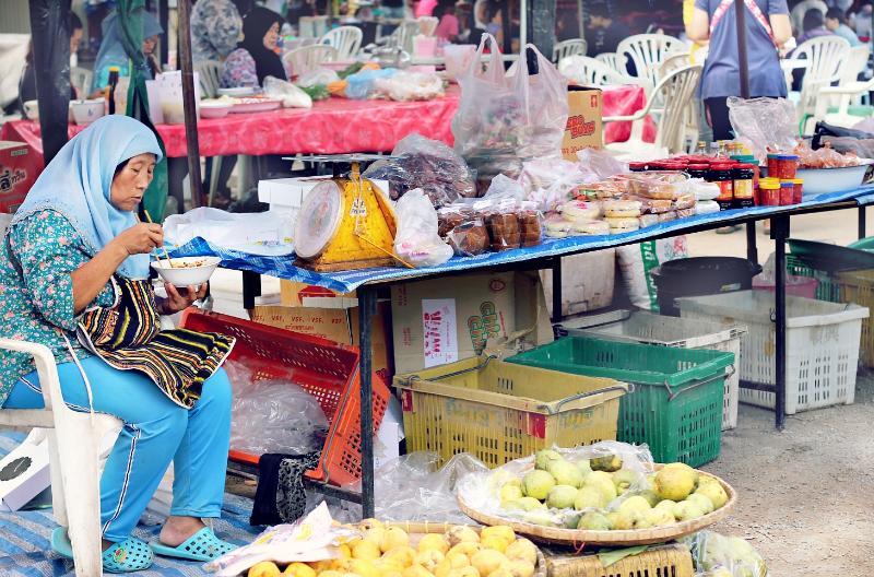 Burmese Market Food Chiang Mai