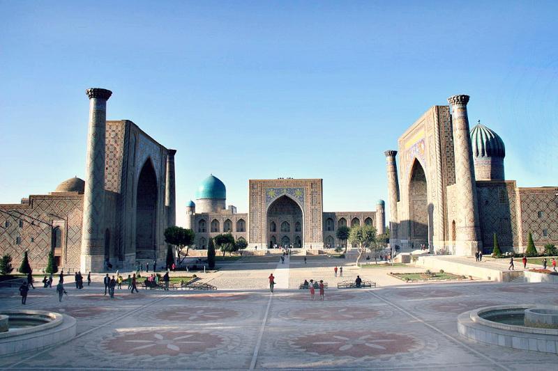 Registan Samarkand, Uzbekistan