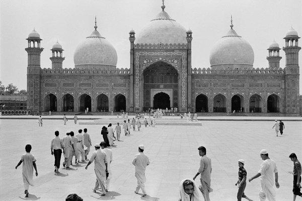 Badshahi Mosque, Lahore, Pakistan, 1988