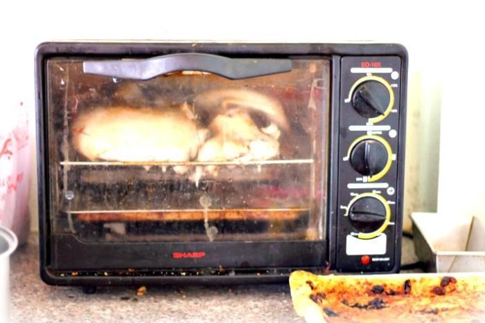 toaster oven turkey