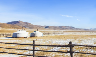 Mongolia in the Winter!