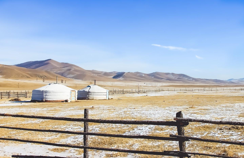 Terelj Ger Mongolia holidays winter