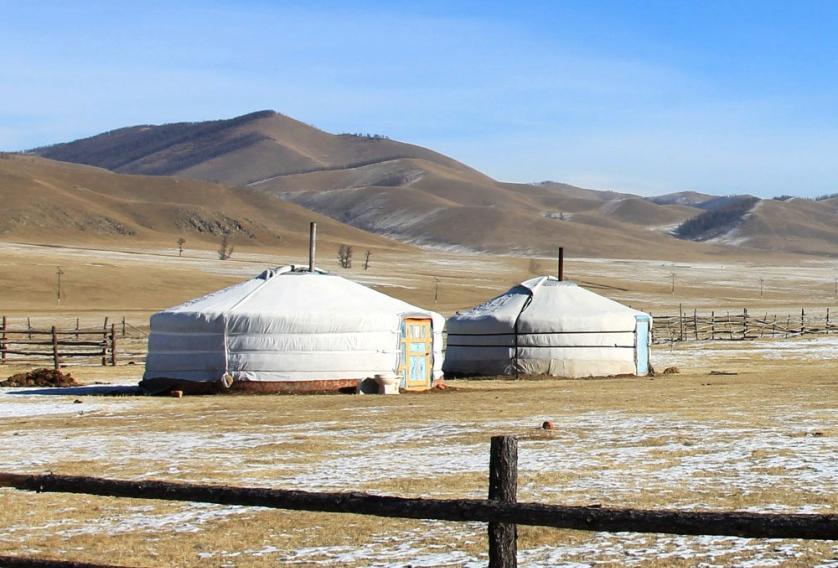 Terelj Ger Yurt Mongolia
