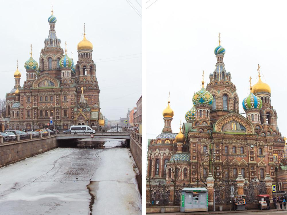 Savior on the Spilled Blood Saint Petersburg Russia