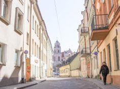 Vilnius, Lithuania Old Town