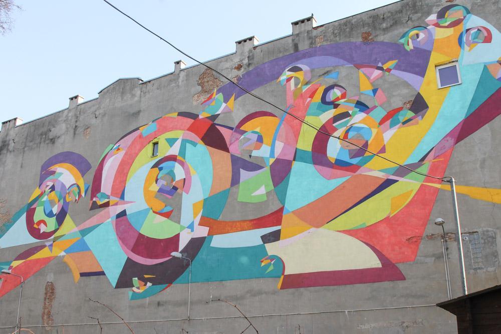 Street Art Lodz Poland