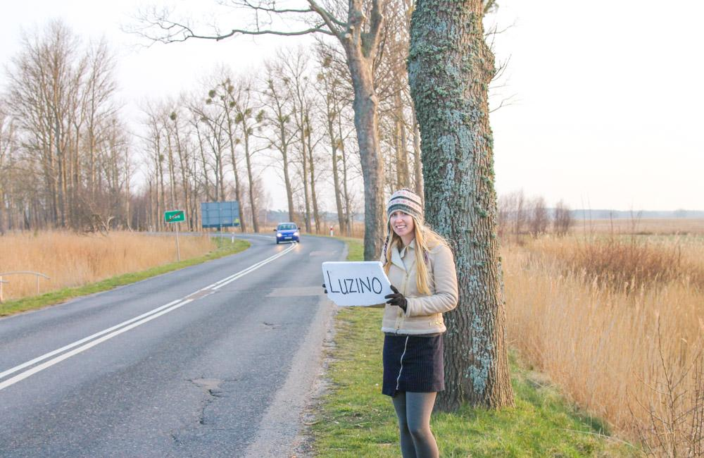hitchhiking in Poland