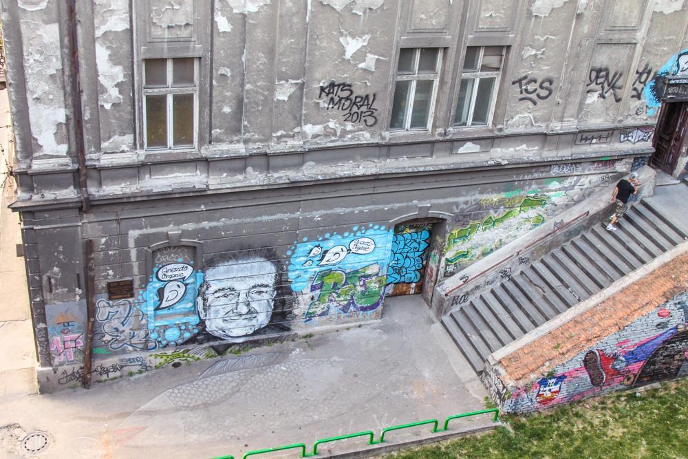 Street art Belgrad, Serbia
