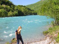 Drina River Brod, Bosnia