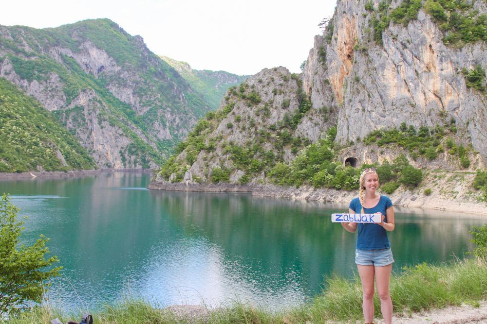 hitchhiking Montenegro
