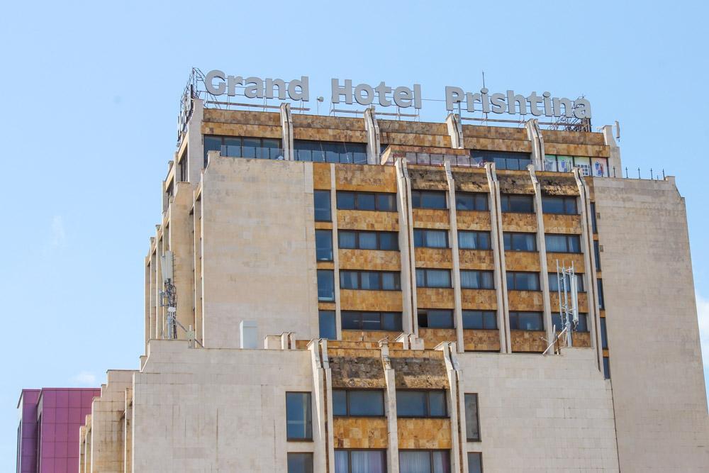Grand Hotel Pristina, Kosovo