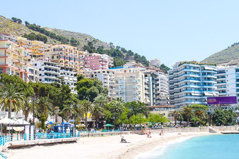 Sarande Beach Albanian Riviera travel guide