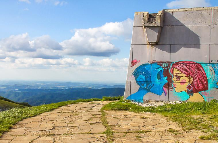 Exploring Buzludzha, Bulgaria