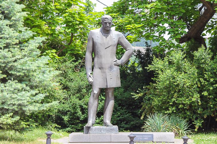 statues Veliko Tarnovo