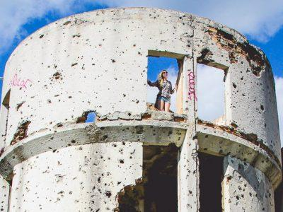 sarajevo bosnian war ruins