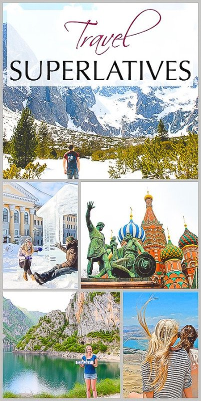 Travel Superlatives - The Bests of 20 Countries