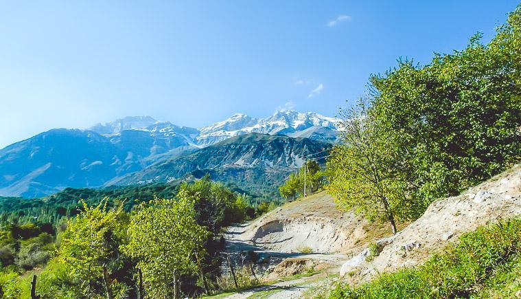 Get off the Path: Arslanbob, Kyrgyzstan