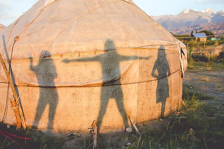 Yurt Camp Issy-Kul Kyrgyzstan