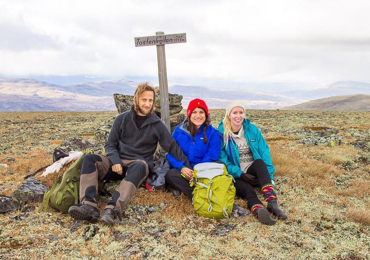 Tostenkollen hike Norway